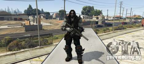 Injustice Lobo для GTA 5