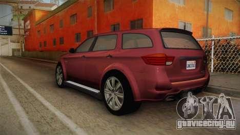 GTA 5 Bravado Gresley для GTA San Andreas вид слева