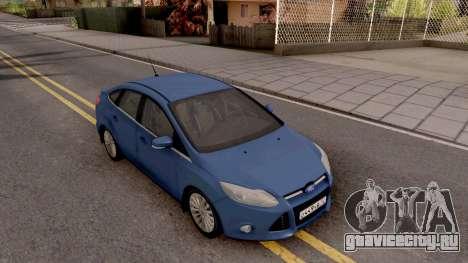 Ford Focus 3 для GTA San Andreas вид справа