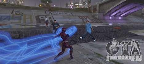 The Flash (Justice League 2017) для GTA 5 третий скриншот