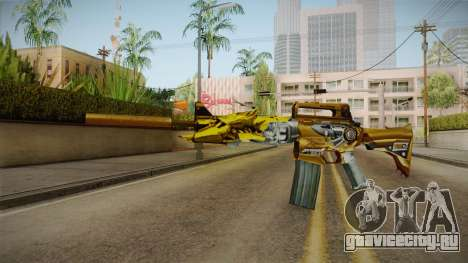 Cross Fire - M4A1-S Iron Beast Noble Gold для GTA San Andreas второй скриншот