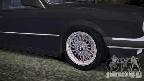 BMW E30 320i для GTA San Andreas вид сзади слева