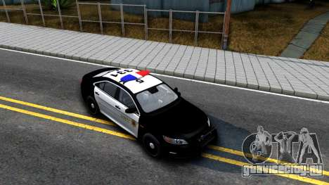 Ford Taurus LASD Interceptor для GTA San Andreas вид справа