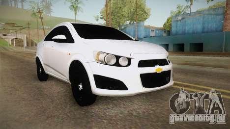 Chevrolet Sonic Beta для GTA San Andreas