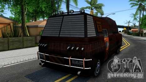 Bus of Future для GTA San Andreas