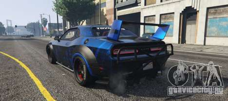 Dodge Challenger 2015 (Super Tuning) для GTA 5 вид слева