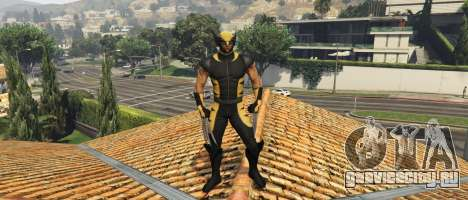 The Wolverine (Hugh Jackman 2013) для GTA 5