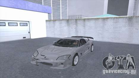 Mazda RX-7 VeilSaid LM для GTA San Andreas вид сзади