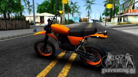 GTA V Dinka Enduro для GTA San Andreas вид слева