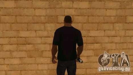 Футболка с логотипом Half Life 2 для GTA San Andreas третий скриншот