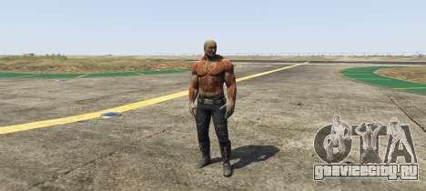 Drax Guardians of the Galaxy для GTA 5