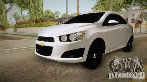 Chevrolet Sonic Beta для GTA San Andreas вид справа