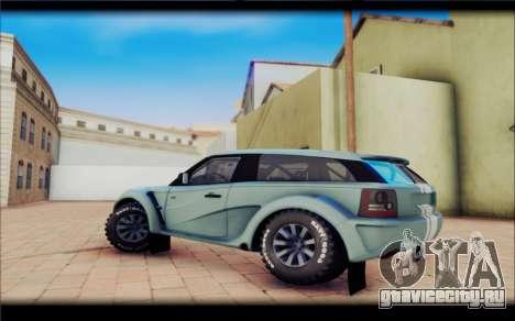 Maps Bowler Nemesis для GTA San Andreas вид слева