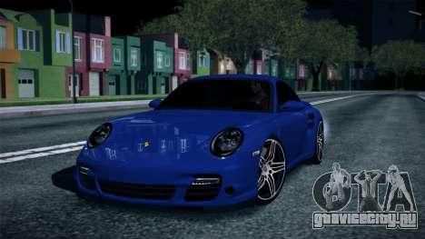 Porsche 911 Turbo 2007 для GTA San Andreas вид справа