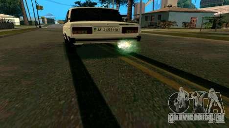 Новые следы от шин для GTA San Andreas второй скриншот