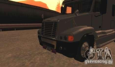 Freightliner Century v2 для GTA San Andreas вид сзади