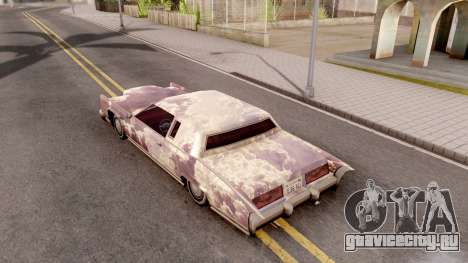 New Remington Paintjob v5 для GTA San Andreas вид сзади
