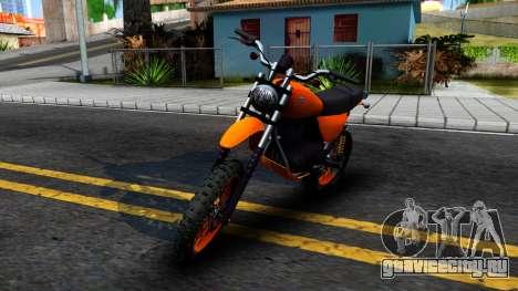GTA V Dinka Enduro для GTA San Andreas