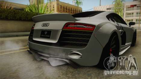 Audi R8 V10 Plus LB Performance для GTA San Andreas вид снизу
