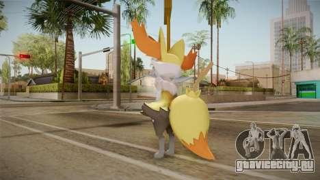Pokémon XY - Braixen для GTA San Andreas третий скриншот