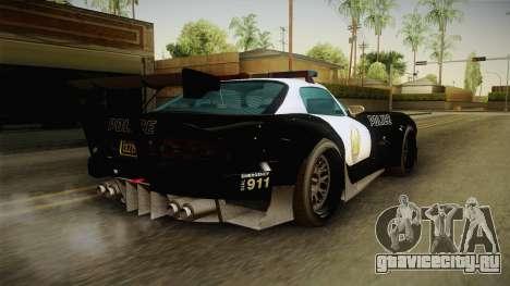 GTA 5 Bravado Banshee Supercop IVF для GTA San Andreas вид слева