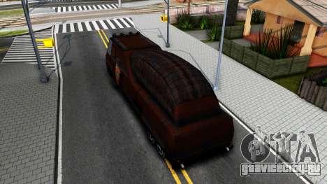 Bus of Future для GTA San Andreas вид сзади