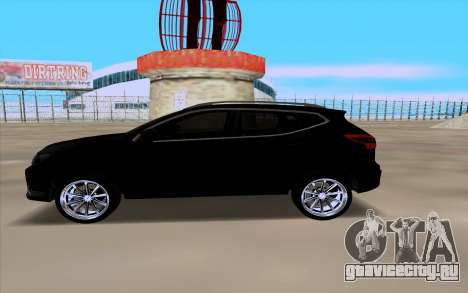Nissan Qashqai 2016 для GTA San Andreas вид сзади слева