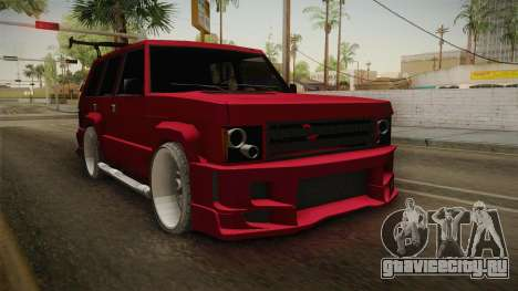Lowered Huntley v1.0 для GTA San Andreas