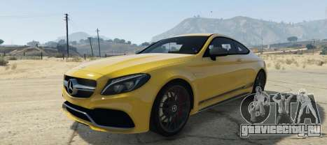 Mercedes C63S AMG Coupe для GTA 5
