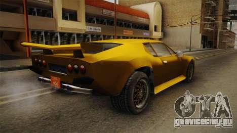 Driver: PL - Raven для GTA San Andreas вид сзади слева