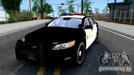Ford Taurus LASD Interceptor для GTA San Andreas