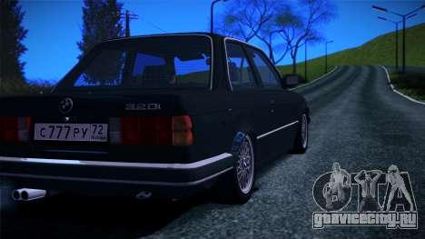 BMW E30 320i для GTA San Andreas вид слева