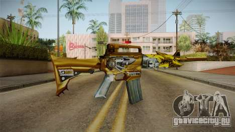 Cross Fire - M4A1-S Iron Beast Noble Gold для GTA San Andreas третий скриншот