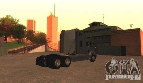 Freightliner Century v2 для GTA San Andreas вид сзади слева