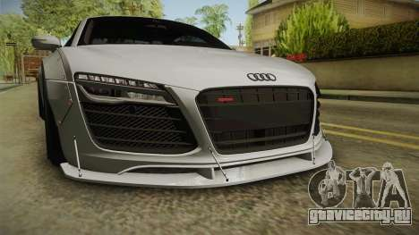 Audi R8 V10 Plus LB Performance для GTA San Andreas вид сбоку