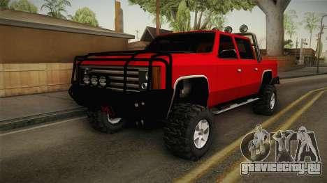 FBI Rancher 4x4 для GTA San Andreas