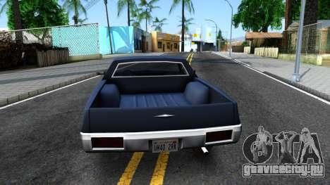 Clover Pickup для GTA San Andreas вид сзади слева