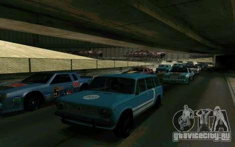 ВАЗ 2102 Аля Ресто для GTA San Andreas вид сзади слева