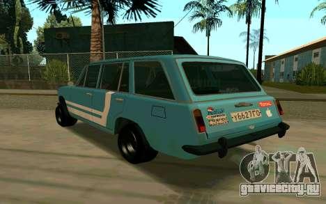 ВАЗ 2102 Аля Ресто для GTA San Andreas вид слева