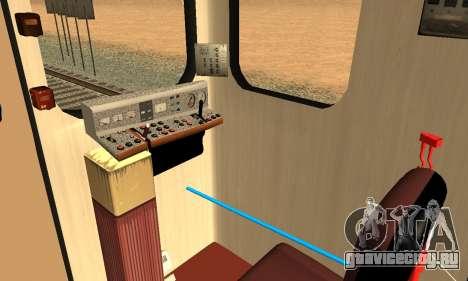 Метросостав типа Еж3 для GTA San Andreas колёса