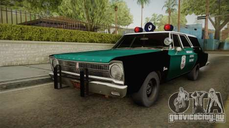 Plymouth Belvedere Station Wagon 1965 NYPD для GTA San Andreas