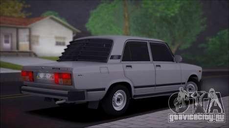 ВАЗ 2105 Качественная для GTA San Andreas вид слева