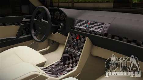 Mercedes-Benz W140 Projekt для GTA San Andreas вид изнутри