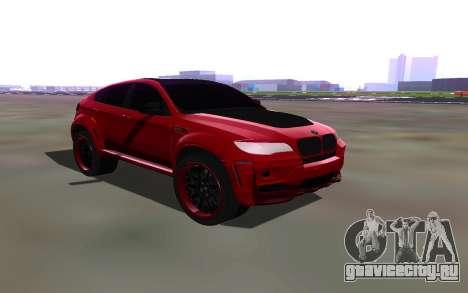 BMW X6 Lumma для GTA San Andreas