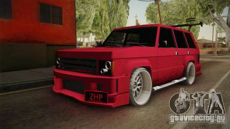 Lowered Huntley v1.0 для GTA San Andreas вид справа