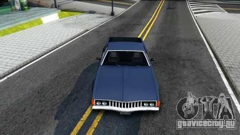Clover Pickup для GTA San Andreas вид изнутри