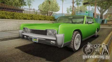 GTA 5 Vapid Chino Continental IVF для GTA San Andreas