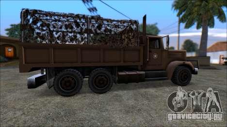 New LQ Barracks для GTA San Andreas вид слева