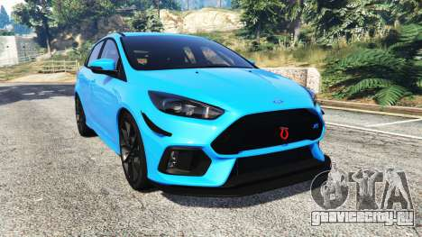 Ford Focus RS (DYB) 2017 [replace] для GTA 5