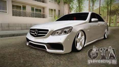 Mercedes-Benz E63 AMG 2016 для GTA San Andreas